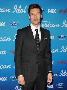 Ryan Seacrest attends the 'American Idol' Top 10 party in Los Angeles, March 7, 2013