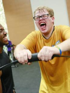 Dolvett Quince and Jackson Carter seen on 'The Biggest Loser's' 'Down To The Wire' episode on March 11, 2013