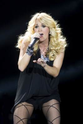 Carrie Underwood performs on stage on Day 2 of C2C: Country To Country Festival 2013 at O2 Arena on March 17, 2013 in London