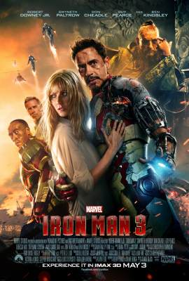 The 'Iron Man 3' poster