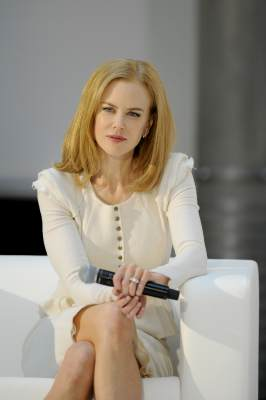 Nicole Kidman is seen at the Omega Press Junket at BAWAG PSK Zentrale on March 24, 2013 in Vienna, Austria