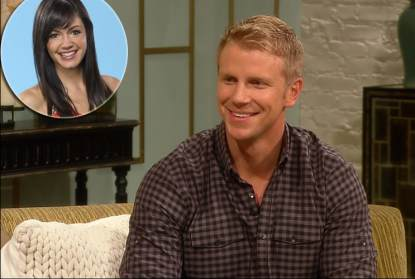 'Bachelor' Sean Lowe, inset: Desiree Hartsock