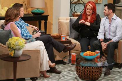 Wynonna Judd and Tony Dovolani on Access Hollywood Live, March 20, 2013