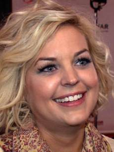 Kirsten Storms on the set of 'General Hospital' 2013