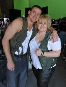 Rebel Wilson Channing Tatum MTV Movie Awards