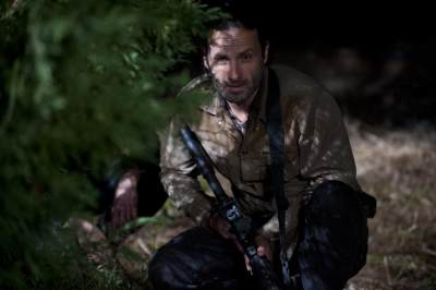 Rick Grimes (Andrew Lincoln) in the Season 3 finale of &#8216;The Walking Dead&#8217;