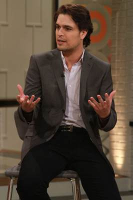 &#8216;The Bible&#8217;s&#8217; Diogo Morgado stops by Access Hollywood Live on March 29, 2013
