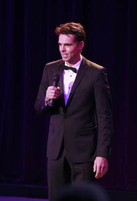 Jason Thompson as Patrick Drake at the 'General Hospital' Nurses Ball, 2013