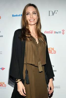 Angelina Jolie attends the Women in the World Summit 2013 on April 4, 2013 in New York