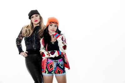 Jennifer Lopez and Becky G