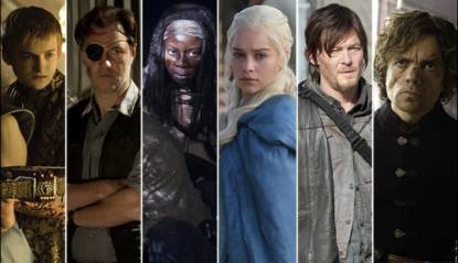 Stars of 'Game of Thrones' and 'The Walking Dead'