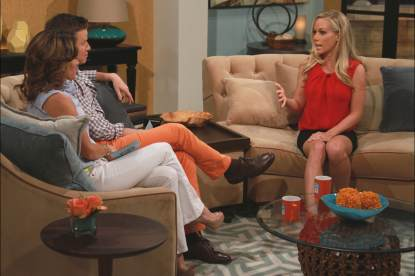 Kendra Wilkinson stops by Access Hollywood Live on March 29, 2013