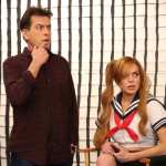 Charlie Sheen and Lindsay Lohan on 'Anger Management'