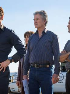 Josh Henderson, Patrick Duffy and Jesse Metcalfe in Season 2 of 'Dallas'