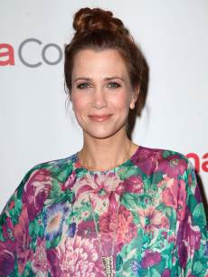 Kristen Wiig arrives at the 20th Century Fox Cinemacon Press Conference at Caesars Palace in Las Vegas on April 18, 2013