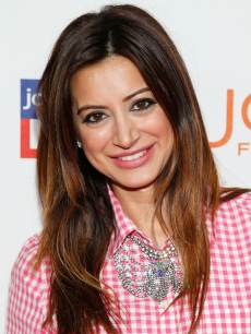 Noureen DeWulf attends the Joe Fresh at jcp Pop Up event in Los Angeles on March 7, 2013