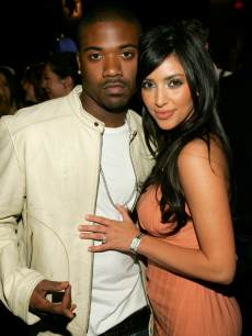Ray J and Kim Kardashian seen in March 2006