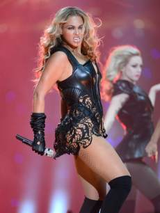 Beyonce performs during the Pepsi Super Bowl XLVII Halftime Show at Mercedes-Benz Superdome on February 3, 2013 in New Orleans