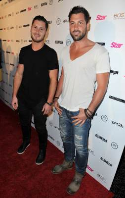Val Chmerkovskiy and Maksim Chmerkovskiy attend Star Magazine's Hollywood Rocks event held at Playhouse Hollywood on April 4, 2013