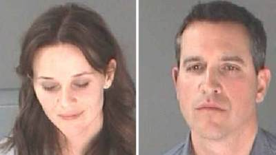 Reese Witherspoon's mug shot, Jim Toth's mugshot, April 2013