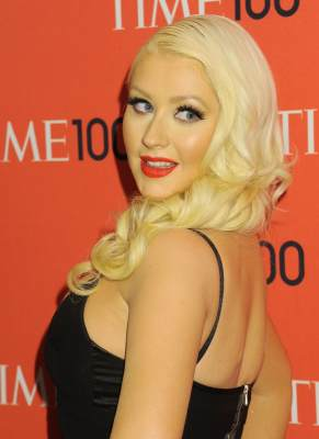 Christina Aguilera attends the 2013 Time 100 Gala at Frederick P. Rose Hall, Jazz at Lincoln Center, New York City, on April 23, 2013