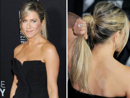 Jennifer Aniston arrives at the Lifetime movie premiere of 'Call Me Crazy: A Five Film' at Pacific Design Center on April 16, 2013 in West Hollywood, Calif.