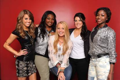 The 'American Idol' Top 5, Season 12