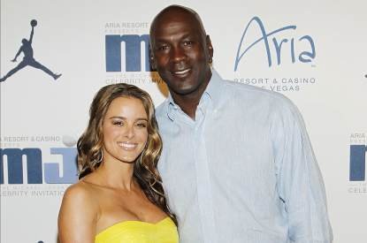 Yvette Prieto and Michael Jordan, March 2012