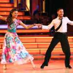 Zendaya and professional partner Valentin Chmerkovksiy on 'Dancing with the Stars'on May 7, 2013