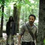 Andrew Lincoln as Rick Grimes in Season 4 of 'The Walking Dead'