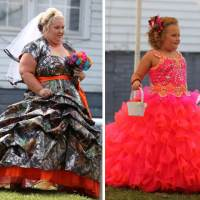 Honey Boo Boo's Mama June Sports Camouflage Wedding Gown (Photo)