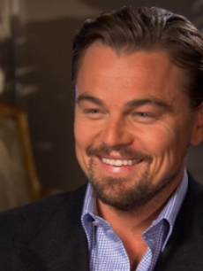 Leonardo DiCaprio chats with Access Holylwood at the 'The Great Gatsby' junket on April 28, 2013