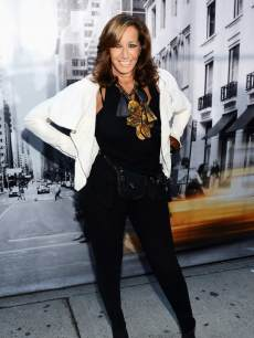 Designer Donna Karan attends the DKNY Women's Spring 2013 fashion show during Mercedes-Benz Fashion Week at 547 W 26th Street on September 9, 2012 in New York City.