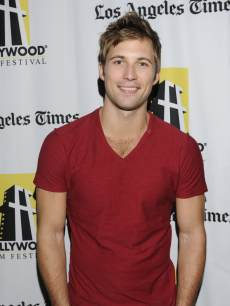 Justin Deeley attends the 16th Annual Hollywood Film Festival - 'Thriftstore Cowboy' Premiere at ArcLight Hollywood on October 20, 2012
