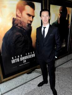 Benedict Cumberbatch attends the &#8216;Star Trek Into Darkness&#8217; UK Premiere at the Empire Leicester Square, London, on May 2, 2013
