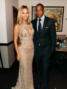 Beyonce and Jay-Z attend the HBO Documentary Film 'Beyonce: Life Is But A Dream' New York Premiere at the Ziegfeld Theater on February 12, 2013 in New York City