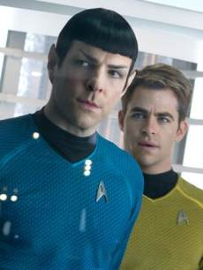 Zachary Quinto and Chris Pine in 2013&#8217;s &#8216;Star Trek Into Darkness&#8217;