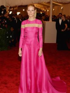 Gwyneth Paltrow attends the Costume Institute Gala for the 'PUNK: Chaos to Couture' exhibition at the Metropolitan Museum of Art on May 6, 2013 in New York City