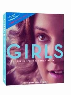 The cover of 'Girls: The Complete Second Season'