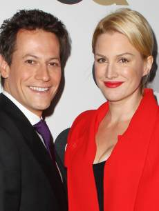 Ioan Gruffudd and Alice Evans arrive at the 16th Annual GQ 'Men Of The Year' Party at Chateau Marmont on November 17, 2011
