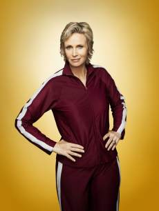Jane Lynch as Sue Sylvester in &#8216;Glee&#8217;