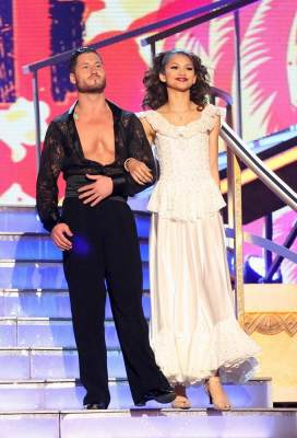 Val Chmerkovskiy and Zendaya take the stage on 'Dancing,' April 29, 2013