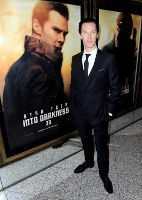 Benedict Cumberbatch attends the 'Star Trek Into Darkness' UK Premiere at the Empire Leicester Square, London, on May 2, 2013