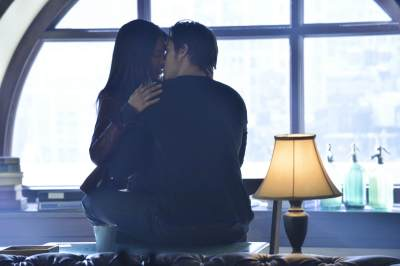 Kristin Kreuk as Catherine and Jay Ryan as Vincent in the 'Never Turn Back' episode of 'Beauty and The Beast'