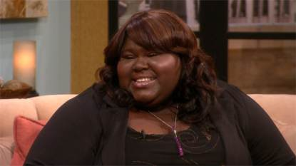 Gabourey Sidibe visits Access Hollywood Live on May 1, 2013