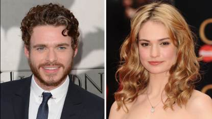 Richard Madden, Lily James