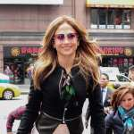 Jennifer Lopez is seen in Times Square on May 15, 2013 in New York City