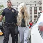 Amanda Bynes arriving for court in New York after being arrested for reckless endangerment after allegedly throwing a foot long bong out of her 36th floor New York apartment on May 24, 2013