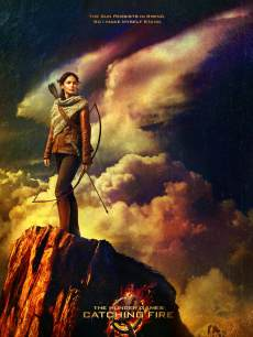 'The Hunger Games: Catching Fire' first official poster, May 2013
