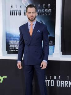 Actor Chris Pine arrives at the Los Angeles premiere of &#8216;Star Trek: Into Darkness&#8217; at Dolby Theatre on May 14, 2013 in Hollywood, California. 